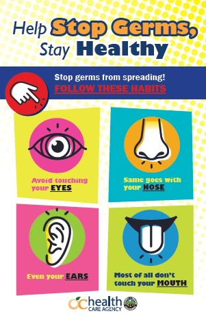 Help Stop Germs Stay Healthy