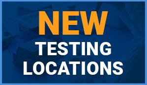 New Testing Locations